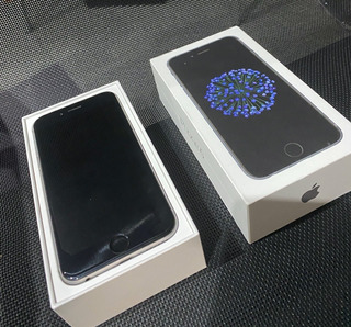 iPhone 6 Plata 64 Gb Impecable C/cable De Datos