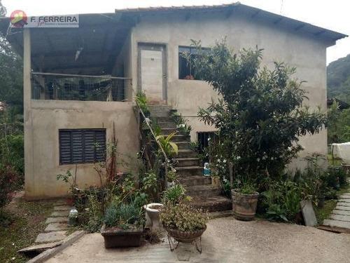 Imagem 1 de 10 de Chácara Com 7 Dormitórios À Venda, 5600 M² Por R$ 500.000,00 - Centro - Embu-guaçu/sp - Ch0074