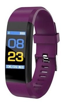 Smartband Smartwatch Com Frequência Cardiaca Hotclocl Roxo