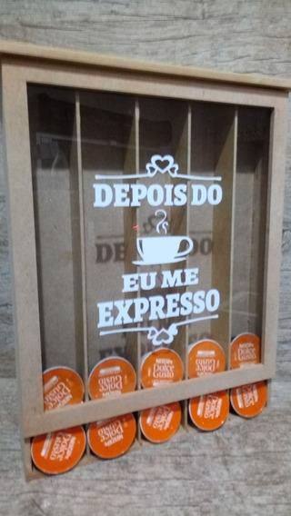 Quadro Cápsulas Dolce Gusto Mdf - Dps Do Café Eu Me Expresso