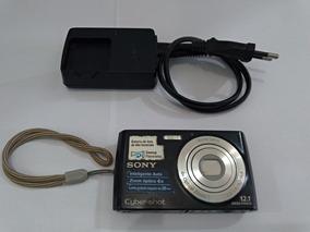Camera Digital Sony 12.1mp 4x Zoom Com Defeito
