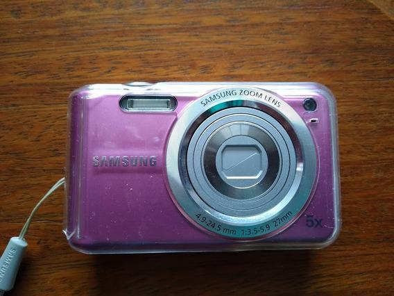 Camera Digital Samsung Lens Es70 Com Cartao De Memoria 1g