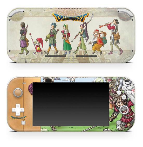 Skin Nintendo Switch Lite Adesivo Dragon Quest