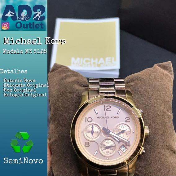 Relogio Michael Kors Rose Mod.mk5128
