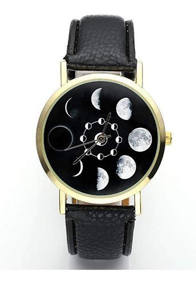 Reloj Hombre / Mujer (unisex) Modelo Fases Lunares