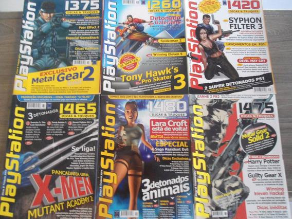 Revista Dicas Truque Playstation - 29 - 32 - 36 Preço Cada