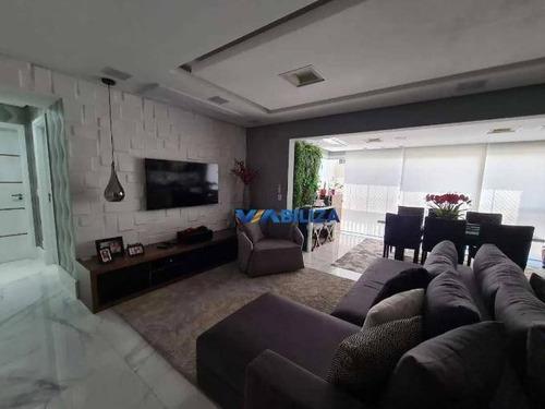 Imagem 1 de 14 de Apartamento À Venda, 122 M² Por R$ 1.058.000,00 - Jardim Flor Da Montanha - Guarulhos/sp - Ap3789