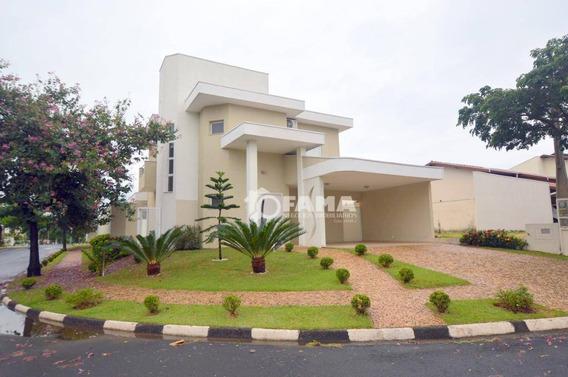 Casa Residencial À Venda, Condomínio Campos Do Conde, Paulínia - Ca1541. - Ca1541