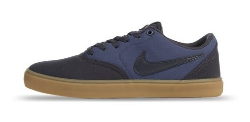 Zapatillas Nike Sb Check Solarsoft 024 Gridiron Canvas Lona