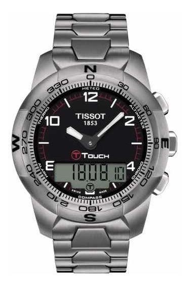Relógio Tissot T-touch Ii Titanium