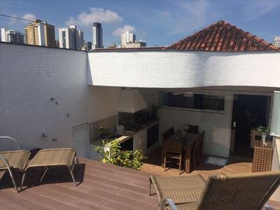 Casa Em Santos, No Bairro Embare - 4 Dormitórios