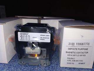 Contactor 2 Polos 40 Amperios 220v