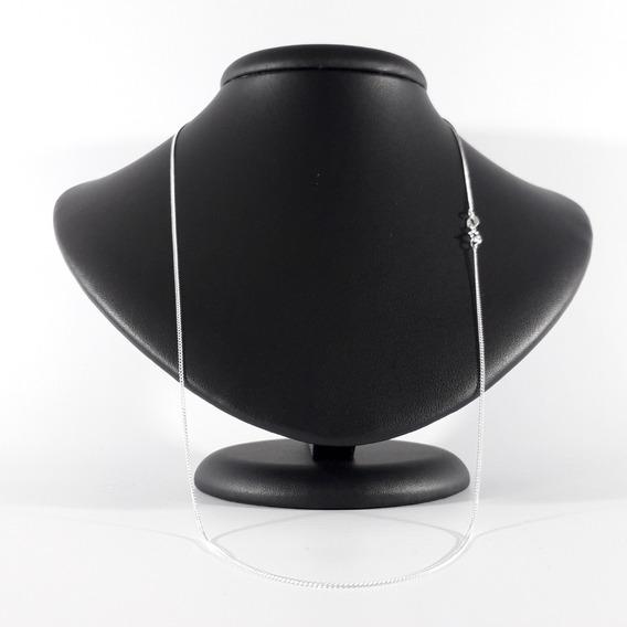 Cordão Corrente Prata 925 Fina 60cm 1mm 1,5g Promoção!