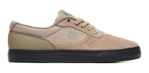 Tênis Dc Shoes Switch Adys300431r Taupe