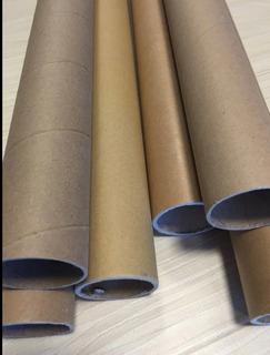 Tubos De Cartón De 92 Cm Largo X 5,5 Cm De Diámetro