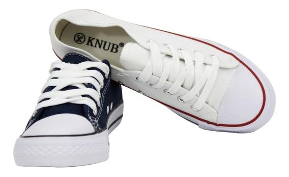 Zapatos Estilo Convers Knub Unisex (horma Pequeña)