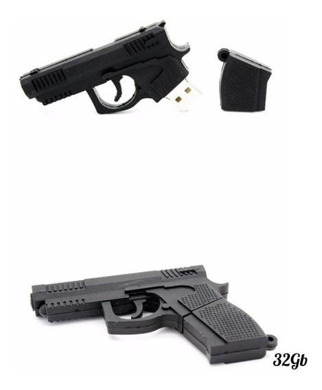 Pendrive Personalizado Pistola 32gb