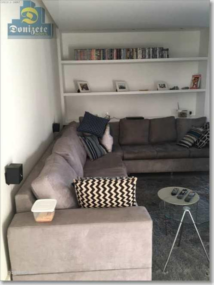 Apartamento Com 4 Dormitórios À Venda, 240 M² Por R$ 1.340.000,00 - Jardim - Santo André/sp - Ap2985