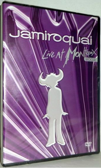 Jamiroquai Live At Montreux 2003 Dvd Novo Lacrado Fabrica