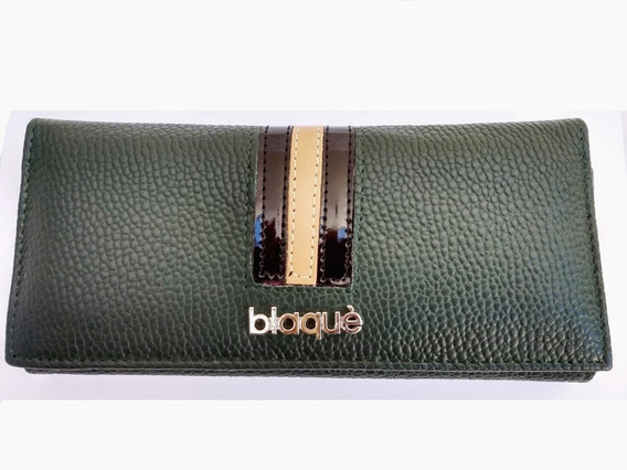 Billetera Fichero Blaque By Showroom Ibbags