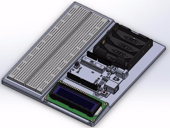 Plataforma P/ Deselvolvimento De Projetos C/ Arduino Uno