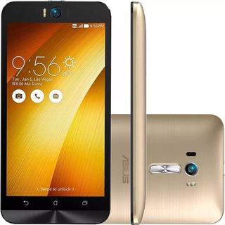 Asus Zenfone Selfie Zd551 Dourado, 13mp 32gb, Leia O Anúncio