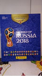 Copa Do Mundo 2018 Álbum Capa Dura + 300 Figurinhas