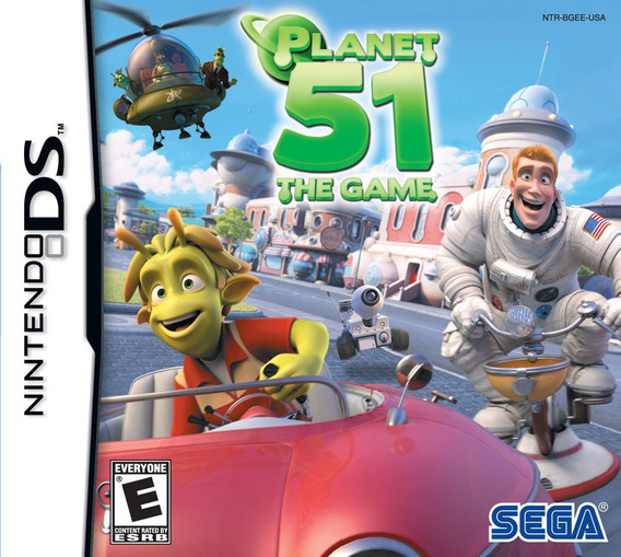 Planet 51 The Game - Ds