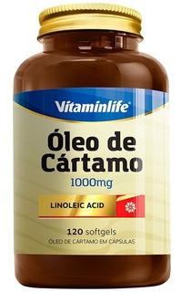 Óleo De Cártamo 120 Softgel - Vitamin Life