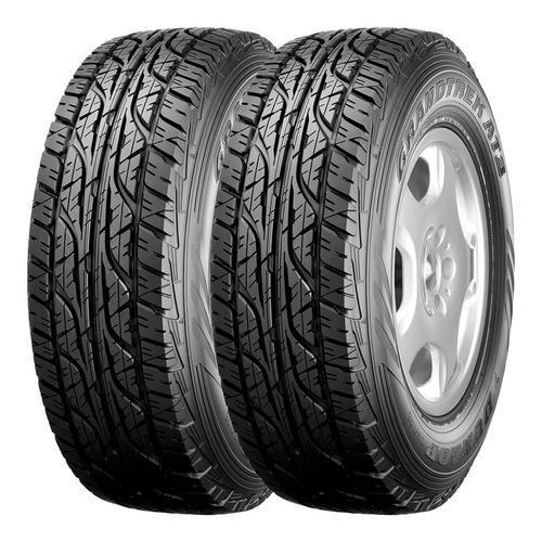 Kit 2 Neumáticos Dunlop 245 70 R16 At3 Amarok Chevrolet S10