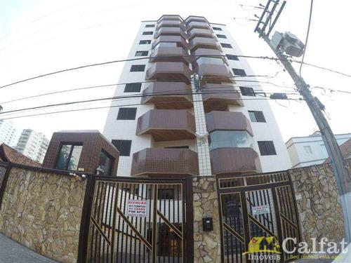 Apartamento Com 1 Dorm, Aviação, Praia Grande - R$ 180 Mil, Cod: 641 - V641