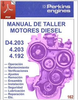 Perkins 4.192, 4.203 Y D4-203 - Manual De Taller Motores