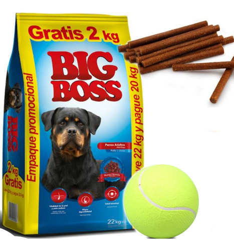 Imagen 1 de 2 de Big Boss Premium Especial  Adulto 22 Kg Con Regalos