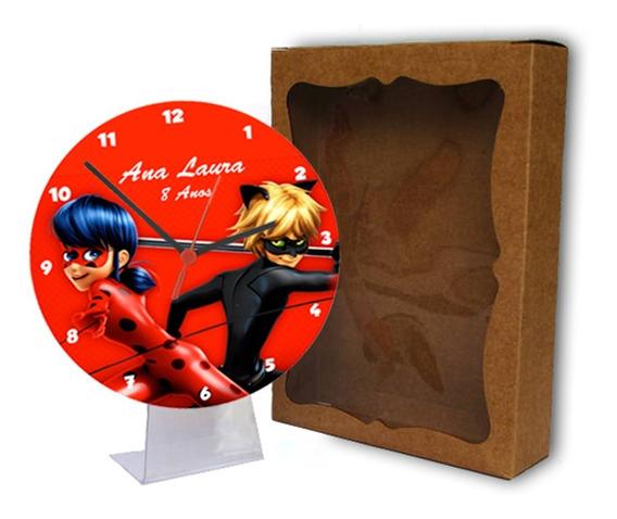 Kit 30 Lembrancinhas Personalizadas Relógio Com Tema E Foto