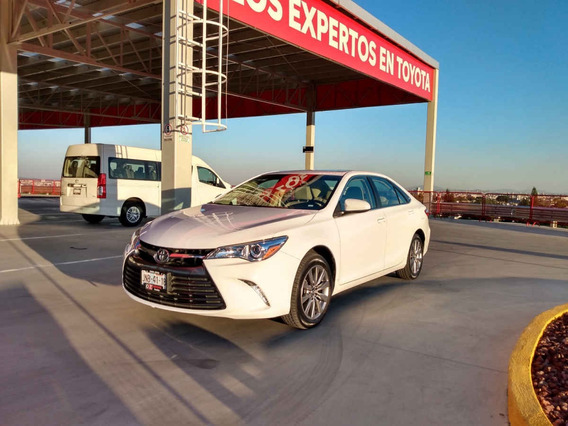 Toyota Camry 2016 4p Xle L4/2.5 Aut Certificado Comonuevo