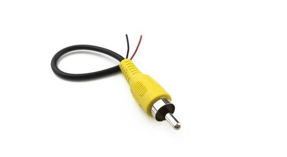Cable Audio Rca Usado Partido Por La Mitad