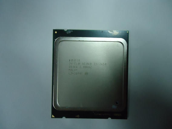 Processador Intel Xeon E5 2650 Sr0kq 2.00hz