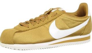 Tenis Nike Cortez Nylon Dorado 25.5mx Original