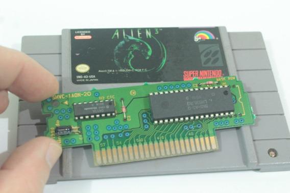 Jogo Alien 3 Original Americano Usa Super Nintendo Snes