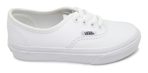 Tenis Vans Authentic Classic Vn00018rl3h Piel Leather White