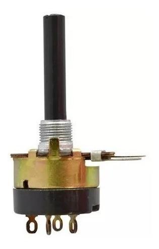Potenciometro 4k7.a Linear Com Chave 23mm Promoção
