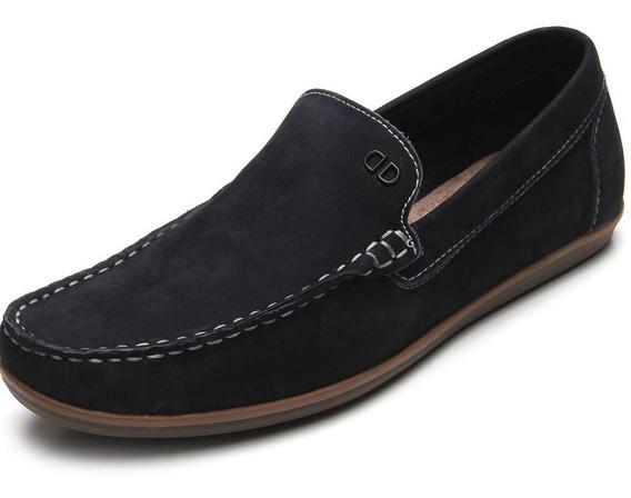 Zapato De Cuero Democrata Hombre Tag Mocasin 226102