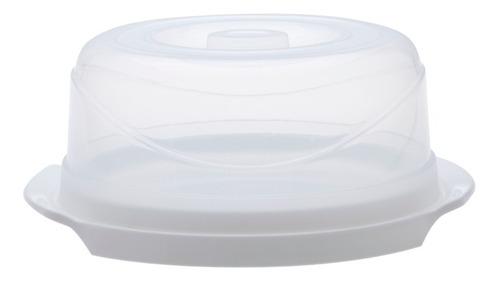 Imagen 1 de 4 de Tortera Redonda Con Tapa 34 X 16 Plastico - Garageimpo