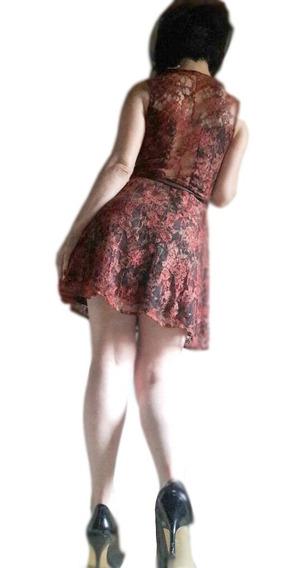 Vestido Encaje Ona Saez Glamour Sensualidad