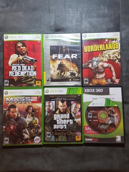 Red Dead Redemption + Mass Effect 2 + 4 Jogos Originais