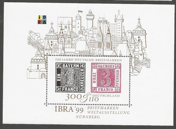 Alemania 1999 Bloque Expo Filatelica De Nürnberg - 124