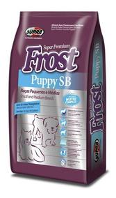 Ração Frost Puppy Sb Filhotes Raças Pequenas E Médias 7,5kg