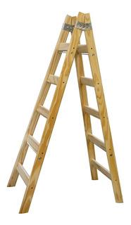 Escalera Pintor Madera 5 Escalones Doble