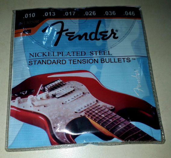 Encordoamento Fender .010