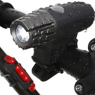 Lanterna Bike Recarregável Farol Dianteiro200lm Cree Led Usb